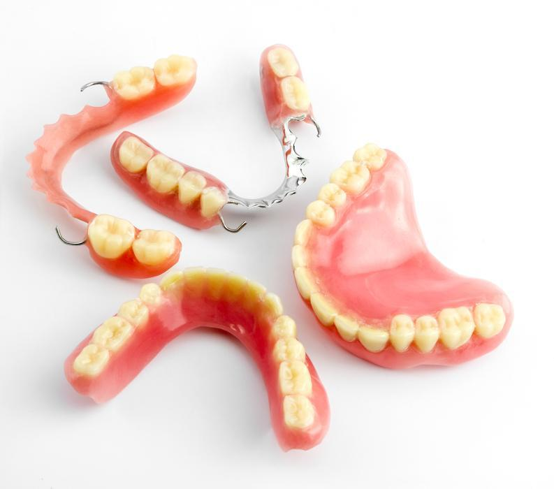 Dentures in Allentown dentist office