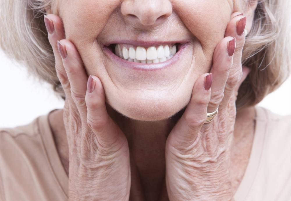 Older Woman with Complete Smile | Dental Implant Restorations in Allentown
