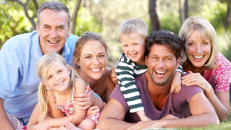 Smiling Family | Dentist in Allentown PA